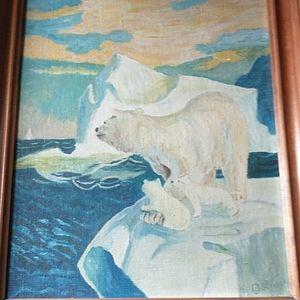 ORIGINAL Signed MATILDA DEKHOT OBLINGER Painting